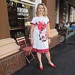 Платье белое нарядное хлопок купон сукня  жіноча біла   Пл 022 Dress white cotton, фото 3