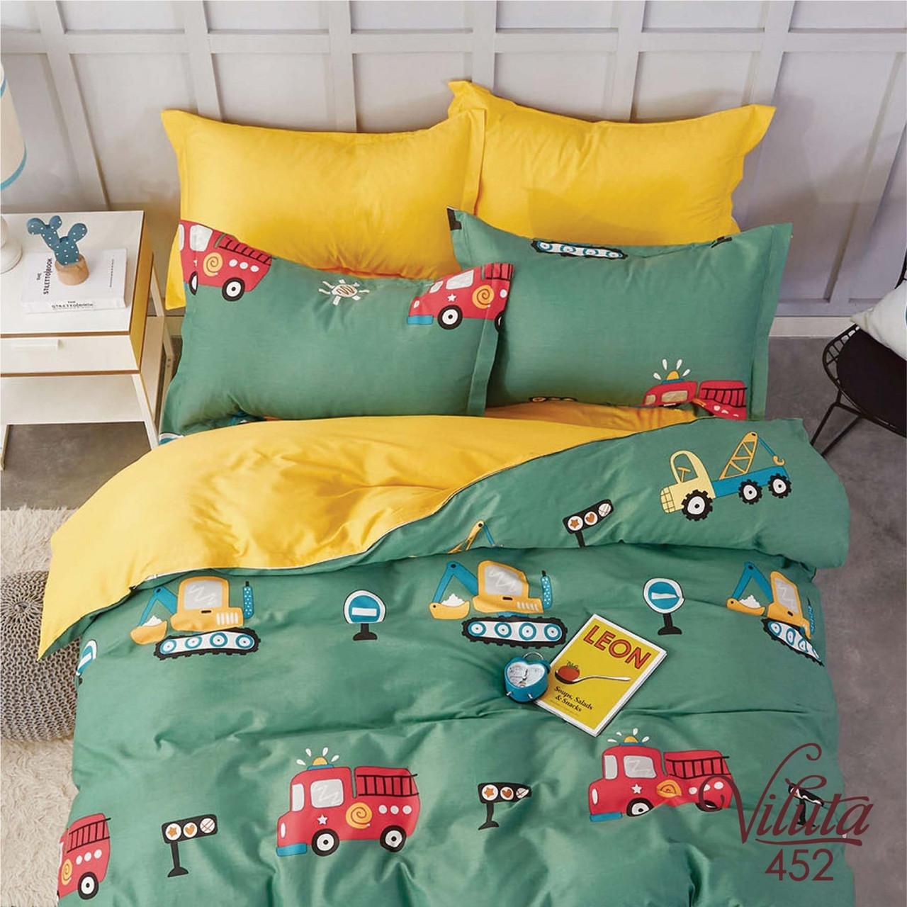 Подростковое постельное белье Сатин Твил 452 Полуторный