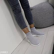 Высокие текстильные кроссовки, фото 3