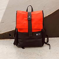 Рюкзак роллтоп черный/красный влагостойкий качественный брендовый  ТУР модель Piligrim