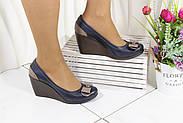 Туфли кожаные на танкетке Norka 3006-05-31, фото 2