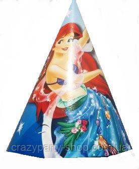 Колпачок праздничный  Ариэль Русалочка Disney 2