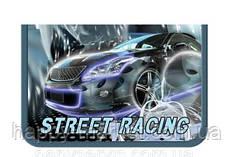 """Пенал без наповнення 1 відд. і 1 отвор. """"Street racing"""" всередині кольоровий фон+розклад JO-19053"""