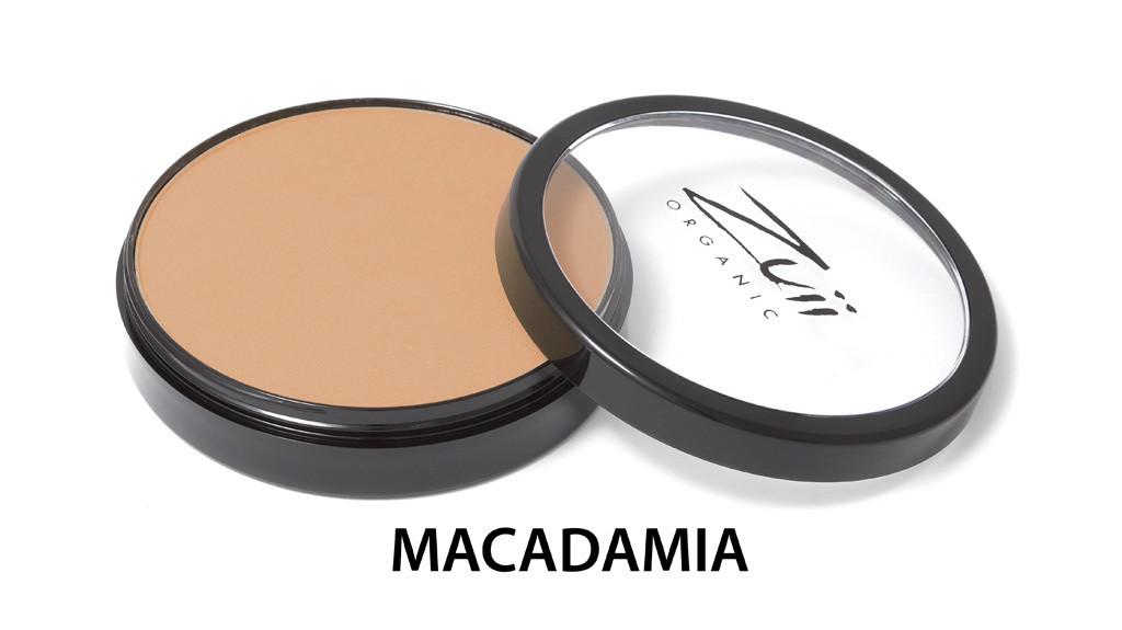 Цветочная компактная пудра органическая Macadamia Zuii Organic,10 г