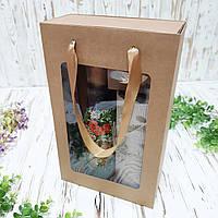Коробка подарочная 350х210х100 мм. с пакетом, фото 1