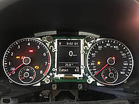 Прошивка приладовій панелі VAG USA із миль км., фото 1