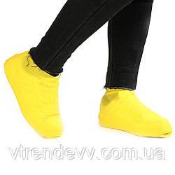 Чехлы на обувь от дождя и грязи размер-S,L  7191