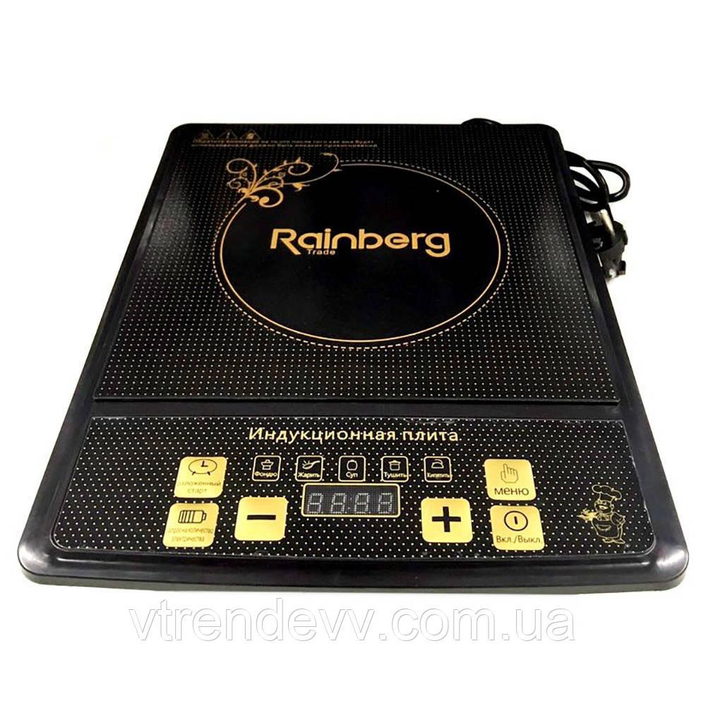 Електрична плита Rainberg індукційна 3400W RB814