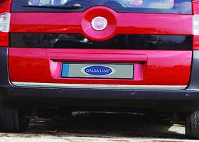 Citroen Nemo 2008↗ рр. Накладка нижньої кромки кришки багажника (нерж.)