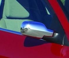 Renault Scenic/Grand 2003-2009 гг. Накладки на зеркала (2 шт, пласт)