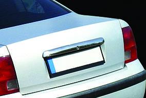 Накладка над номером 1996-2001 (нерж) Volkswagen Passat B5 1997-2005 гг.