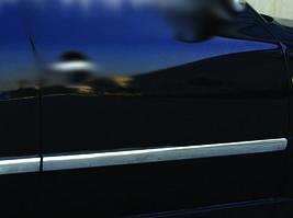 Молдинг дверной (4 шт, нерж) OmsaLine - Итальянская нержавейка Volkswagen Passat B5 1997-2005 гг.