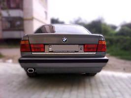 BMW 5 серія E-34 1988-1995 рр. Кромка багажника (нерж.)