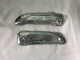 Honda Civic Sedan VII 2001-2006 рр. Накладки на ручки (хром, абс)