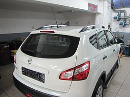 Nissan Qashqai 2010-2014 рр. Рейлінги Хром Пластикові ніжки