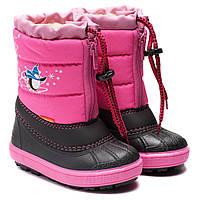 Cнобутсы Demar зимние, для девочки, размер 20-29