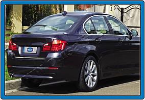 BMW 5 серия F-10/11/07 2010-2016 гг. Кромка багажника (нерж.)