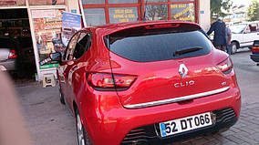 Кромка багажника (HB, нерж) Renault Clio IV 2012-2019 гг.