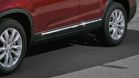 Kia Sorento XM 2009-2014 гг. Накладки на молдинг (4 шт, нерж)
