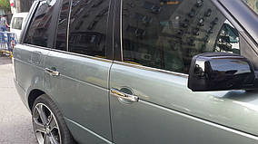 Range Rover Sport 2005-2013 рр. Окантовка вікон (6 шт, нерж.)