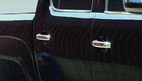 Накладки на ручки (4 шт, нерж) OmsaLine - Итальянская нержавейка Volkswagen Amarok