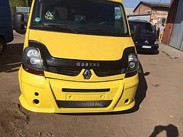 Передній бампер (накладка, під фарбування) Renault Master 2004-2010 рр.