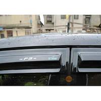 Ford Transit 2000-2014 гг. Ветровики (2 шт, Aomis)