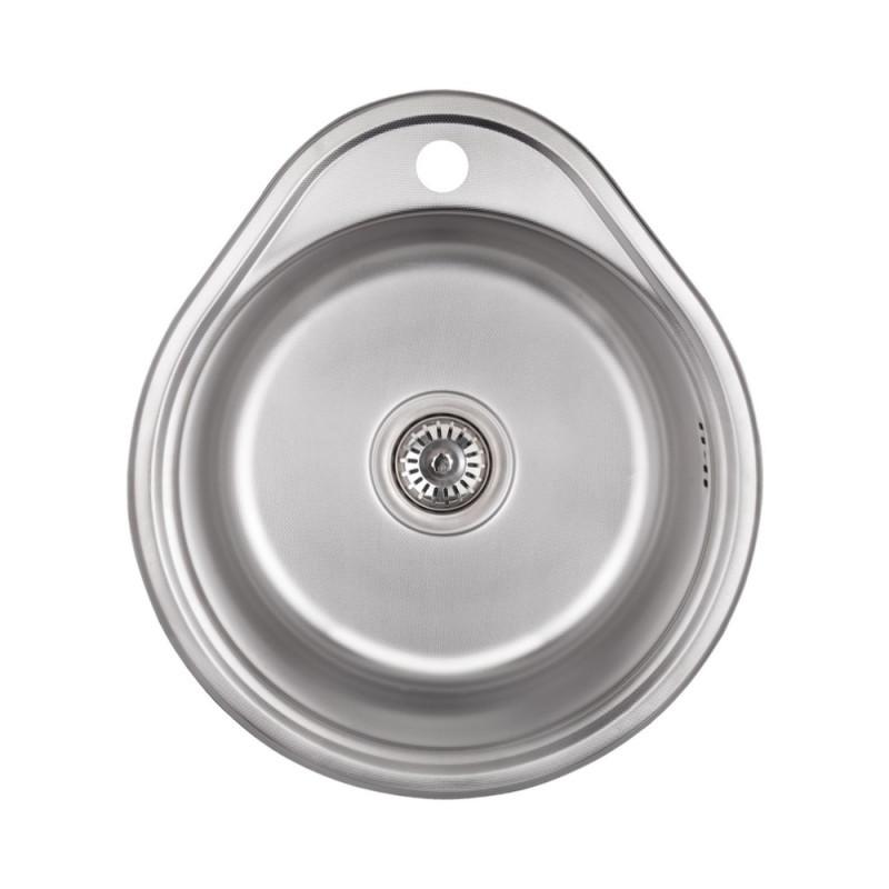 Кухонная мойка Lidz 4843 Decor 0,8 мм (LIDZ484306DEC)