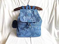 Рюкзак городской молодёжный синий Kipling City Pack