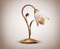 Настольная лампа в стиле флорисика