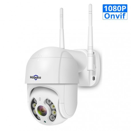 Уличная WIFI камера видеонаблюдения Full HD Hiseeu WHD812 PTZ 1080p