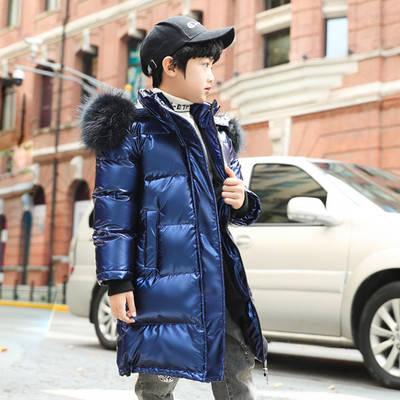 Детская  курточка на пуху зимняя, фото 2
