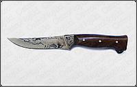 """Охотничий нож """"Лис"""" .Ручная работа из нержавеющей стали"""
