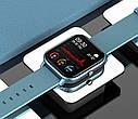 Смарт-годинник з вимірюванням пульсу і тиску Colmi P8 Pro Blue, фото 4