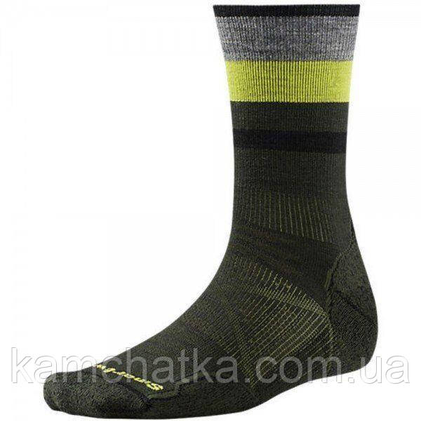 Носки мужские Smartwool PhD Outdoor Light Pattern Crew Forest, р.M (SW 01070.301-M)