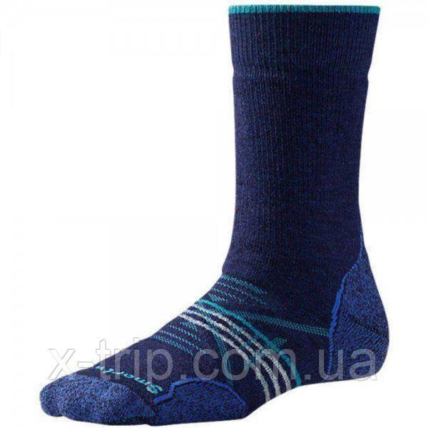 Шкарпетки жіночі Smartwool PhD Outdoor Medium Crew Ink, р. M (SW 01064.109-M)