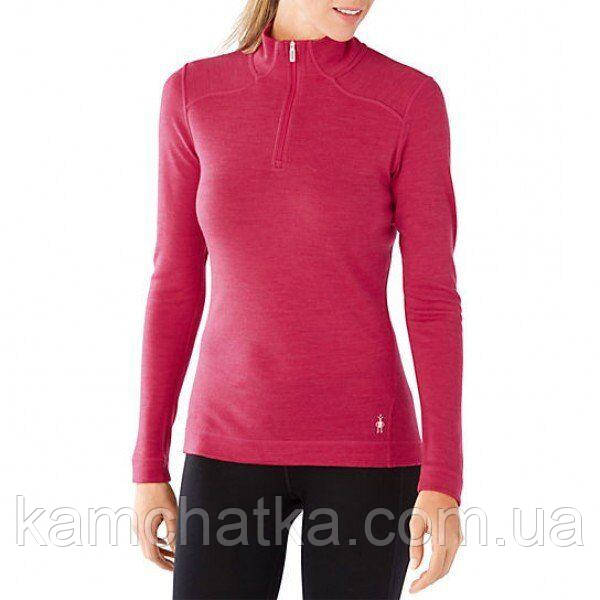 Термофутболка жіноча Smartwool NTS Mid 250 Zip T Potion Pink Heather, L