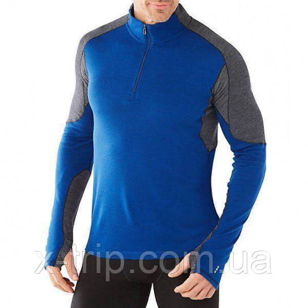 Термофутболка мужская Smartwool PhD Light 1/4 Zip Dark Blue, р.L (SW 14014.491-L)