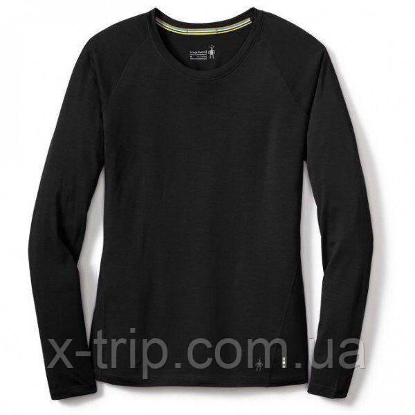 Футболка женская Smartwool Merino 150 Baselayer Long Sleeve Black, р.L (SW 17255.001-L)