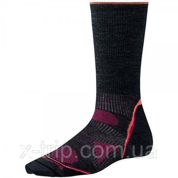 Носки женские Smartwool PhD Outdoor Ultra Light Crew Socks Charcoal, р.L (SW SW051.003-L)