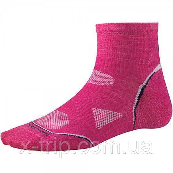 Шкарпетки жіночі Smartwool PhD Cycle Ultra Light Mini Bright Pink, р. M (SW SW077.684-M)