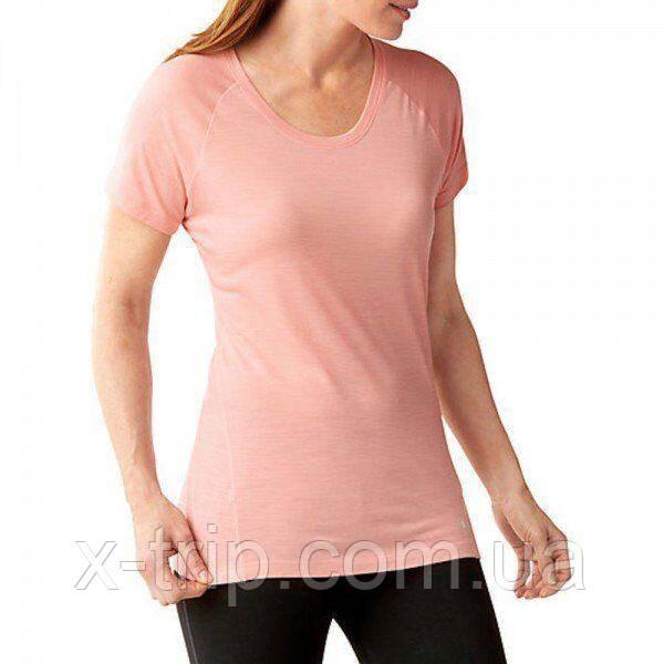 Футболка жіноча Smartwool Merino 150 Baselayer Pattern Short Sleeve Mineral Pink, р. M (SW 17254.821-M)