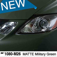 Военный мат 3M 1080 Scotchprint Matte Military Green