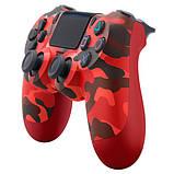 Джойстик геймпад Sony PS 4 DualShock 4 Wireless Controller Red Camouflage ( красный камуфляж ), фото 3