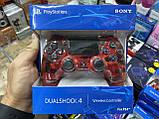 Джойстик геймпад Sony PS 4 DualShock 4 Wireless Controller Red Camouflage ( красный камуфляж ), фото 5