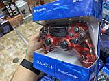 Джойстик геймпад Sony PS 4 DualShock 4 Wireless Controller Red Camouflage ( красный камуфляж ), фото 6