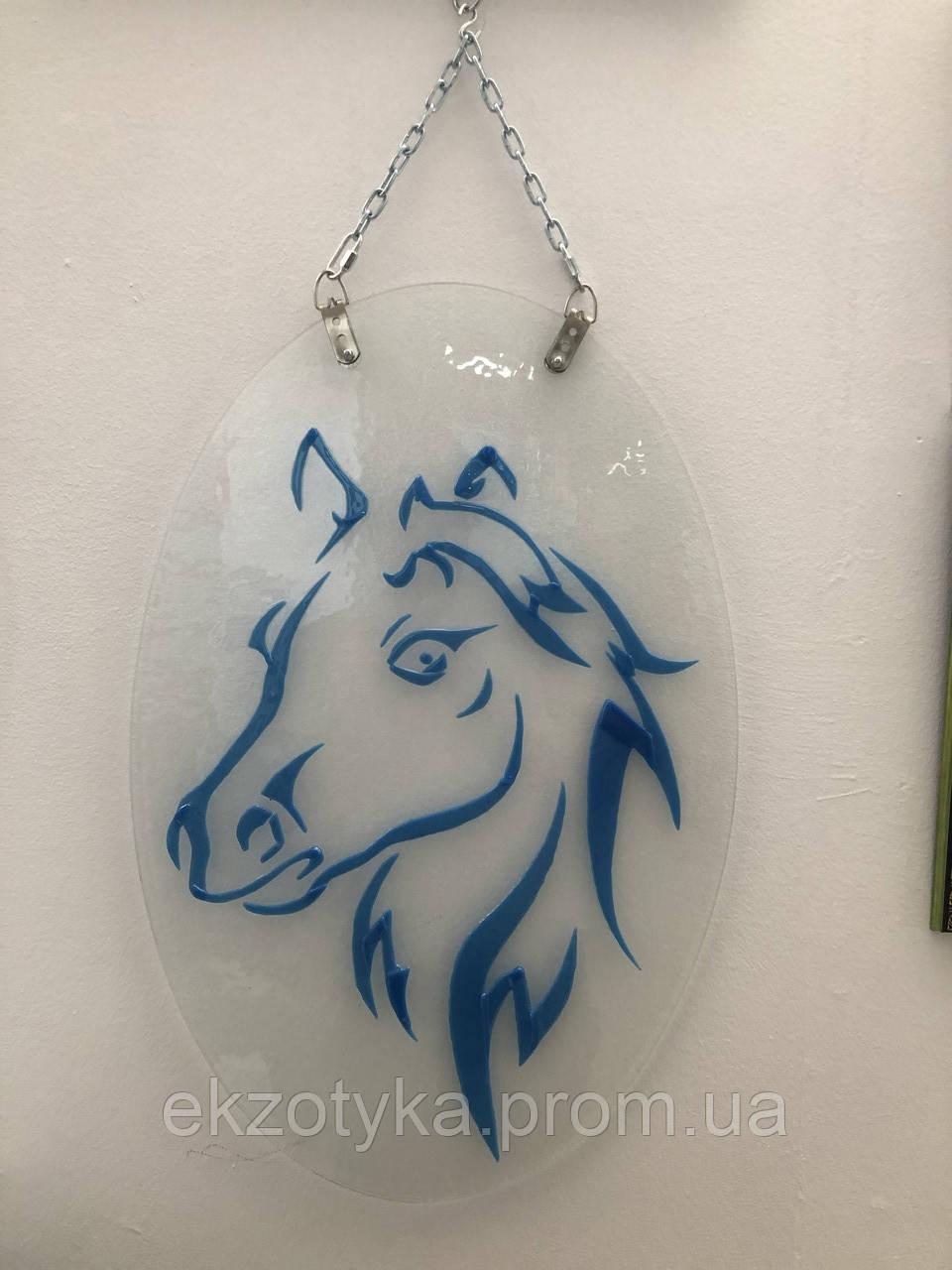 Картина из стекла Фьюзинг «Лошадь»