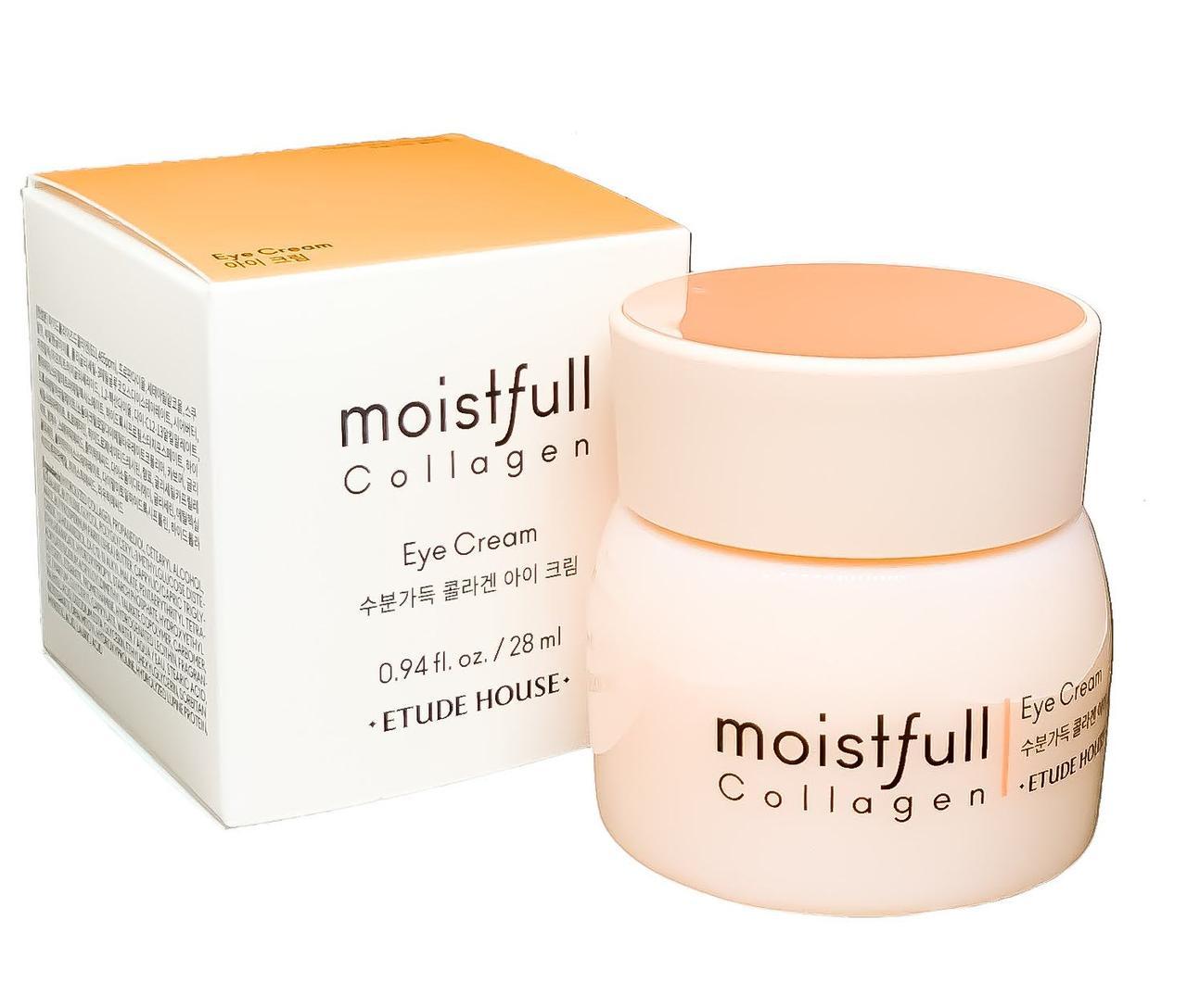 Коллагеновый крем для век Etude House Moistfull Collagen Eye Cream