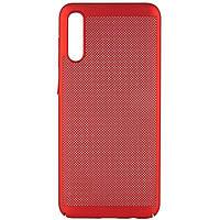 Ультратонкий дышащий чехол Grid case для Samsung Galaxy A70 (A705F)