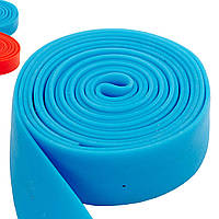 Жгут эластичный спортивный, лента жгут VooDoo Floss Band FI-3935-2_5 (латекс,l-2,5м, 3смx2мм,син,кр)